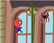 Spiderman zombie run játék